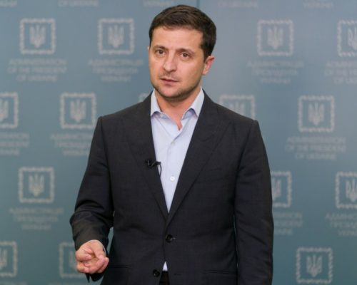 Обращение Президента Украины Владимира Зеленского.