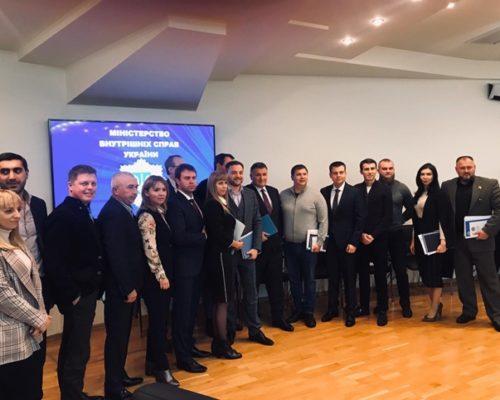 Члены Комитета по вопросам правоохранительной деятельности провели встречу с министром внутренних дел Украины.