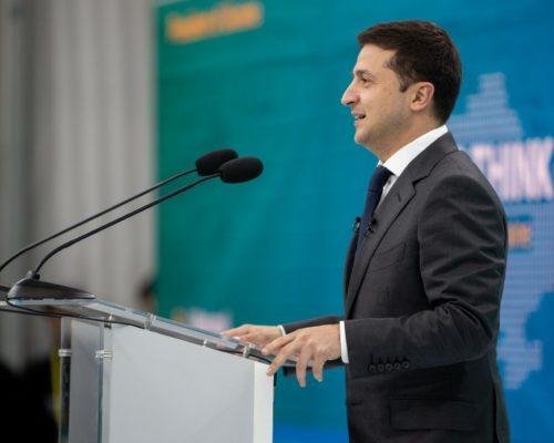 Президент у Маріуполі оголосив про запуск Фонду міжнародної партнерської підтримки для відновлення та майбутньої реінтеграції Донбасу.