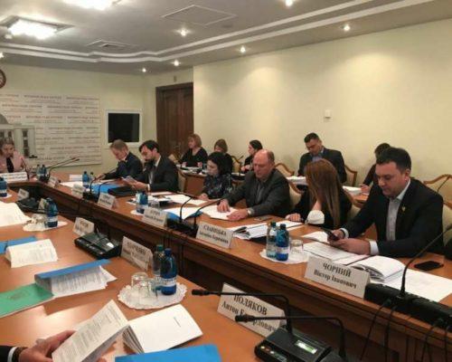 Комітет з питань антикорупційної політики розглянув ряд проектів законів на предмет відповідності вимогам антикорупційного законодавства.