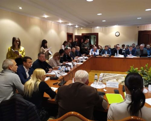 27 листопада засідання комітету з питань здоров'я нації зібрало справжній аншлаг .