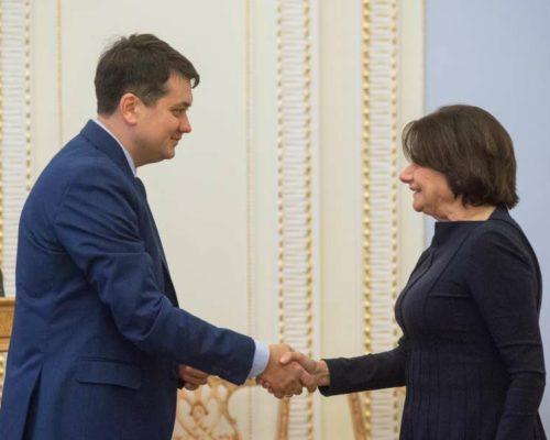 Ми вдячні ООН за підтримку процесів, які принесуть мир в Україну, – Дмитро Разумков.