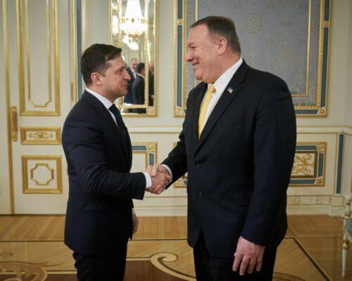 Президент України зустрівся з Державним секретарем США.