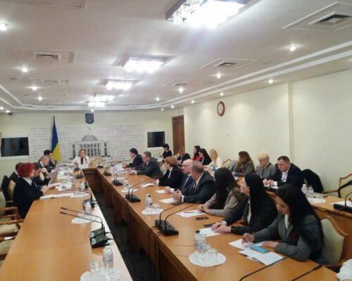 У Комітеті з питань антикорупційної політики відбувся круглий стіл щодо практики застосування антикорупційного законодавства України.