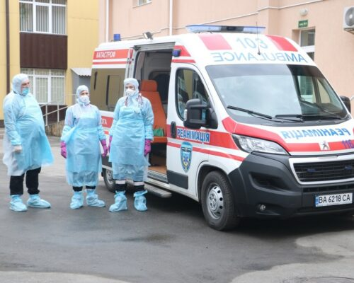В обласній лікарні показали бокси, підготовлені на випадок коронавірусу.