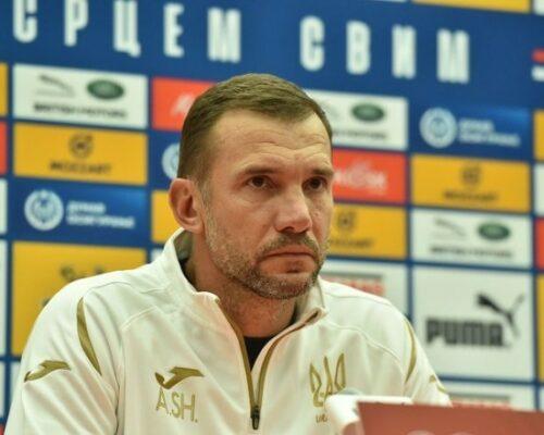 Шевченко назвав склад збірної України на гру з чемпіонами світу.