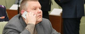 """Народного депутата групи """"Довіра"""" Валерія Давиденка знайшли мертвим у його офісі в Києві."""