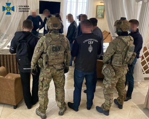 """СБУ затримала шахраїв, які """"продавали"""" пост губернатора Харківщини за 1 мільйон доларів."""