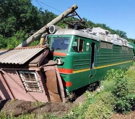 На Кіpовогpадщині на станції Чоpноліська Одеської залізниці сталася аваpія.