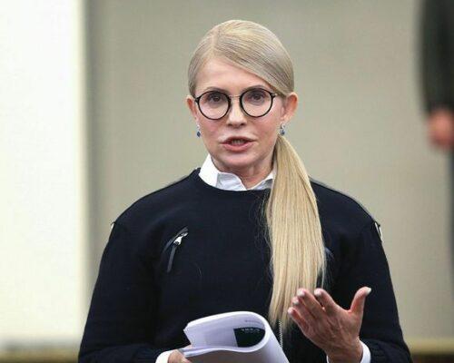 Тимошенко захворіла на коронавірус.