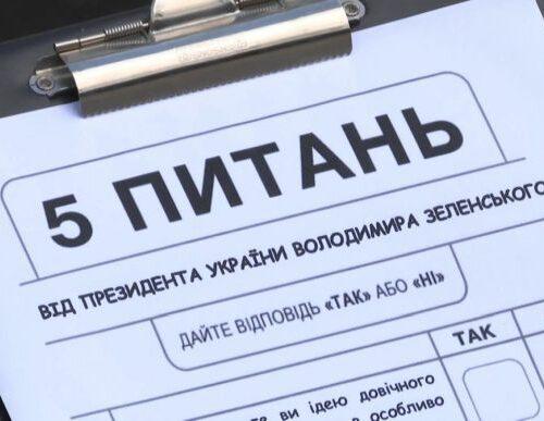 """""""5 питань від Зеленського"""" профінансує партия""""Слуга народу""""."""