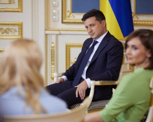 Майже 30 років український народ дурили щодо земельної реформи, за цей час розкрадено 5 млн га – Глава держави в інтерв'ю українським телеканалам .