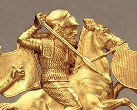 У Запоріжжі на острові Хортиця археологи знайшли останки скіфського воєначальника, похованого близько 2,5 тис. років тому.