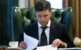 """Зеленський ввів санкції проти телеканалів """"112"""", """"NewsOne"""", """"Zik"""" і їхнього фактичного власника Козака ."""