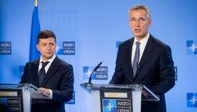 Володимир Зеленський обговорив з Генеральним секретарем НАТО загострення безпекової ситуації на Донбасі.