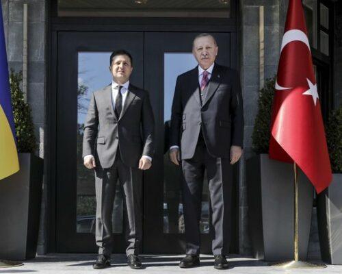 У Стамбулі відбувається закрита зустріч Зеленського й Ердогана.