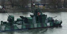 П'ятнадцять кораблів Каспійської флотилії (КФЛ) РФ пройшли під Кримським мостом Керченською протокою і зайшли в Чорне море.
