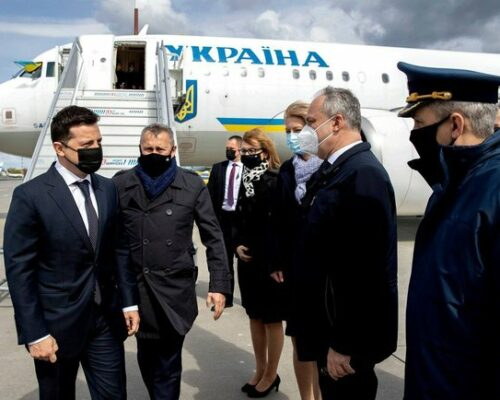 Президент України Володимир Зеленський прибув з робочим візитом до Польщі.