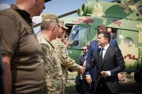 Президент України Володимир Зеленський прибув з робочою поїздкою до Донецької області.