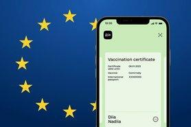 """Європейський Союз на технічному рівні визнав українські цифрові COVID-сертифікати в додатку """"Дія""""."""
